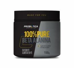 100% Pure Beta Alanina 150G - Probiótica100% Pure Beta Alanina 150g
